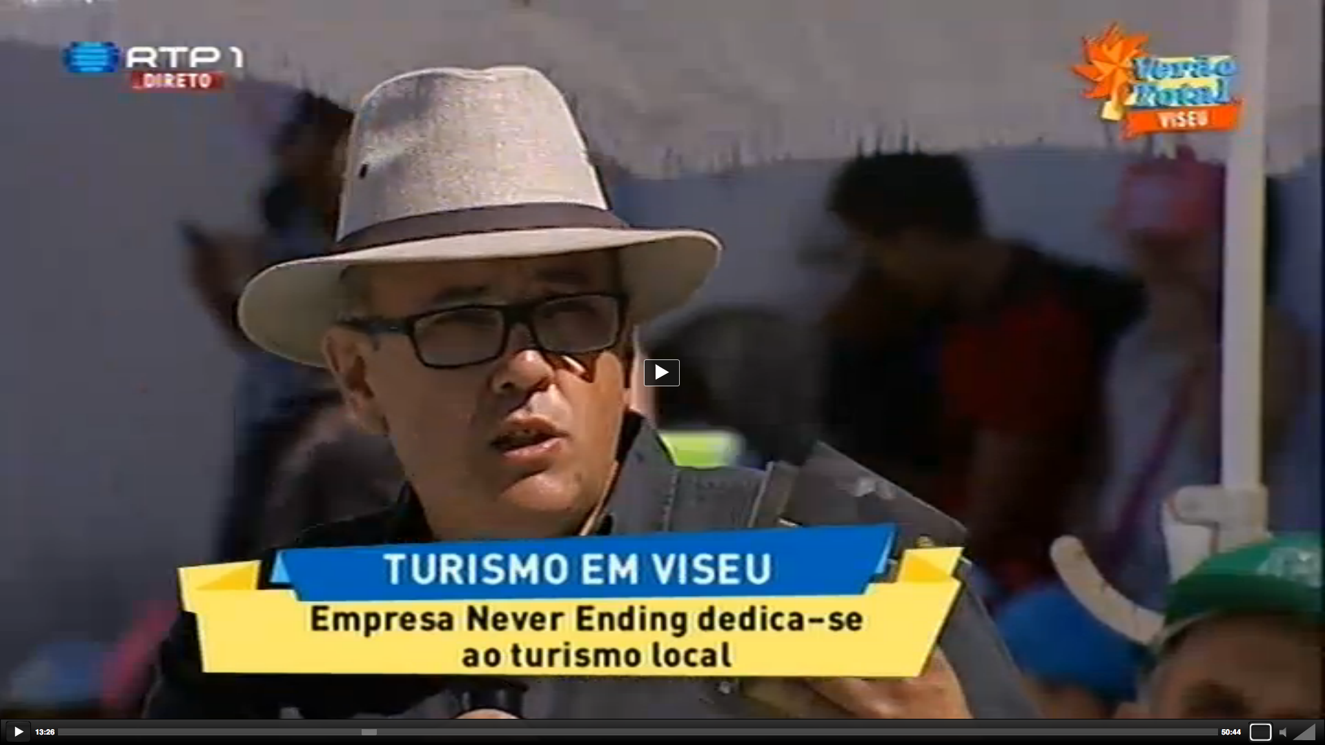 A Neverending esteve na RTP 1 no Verão Total