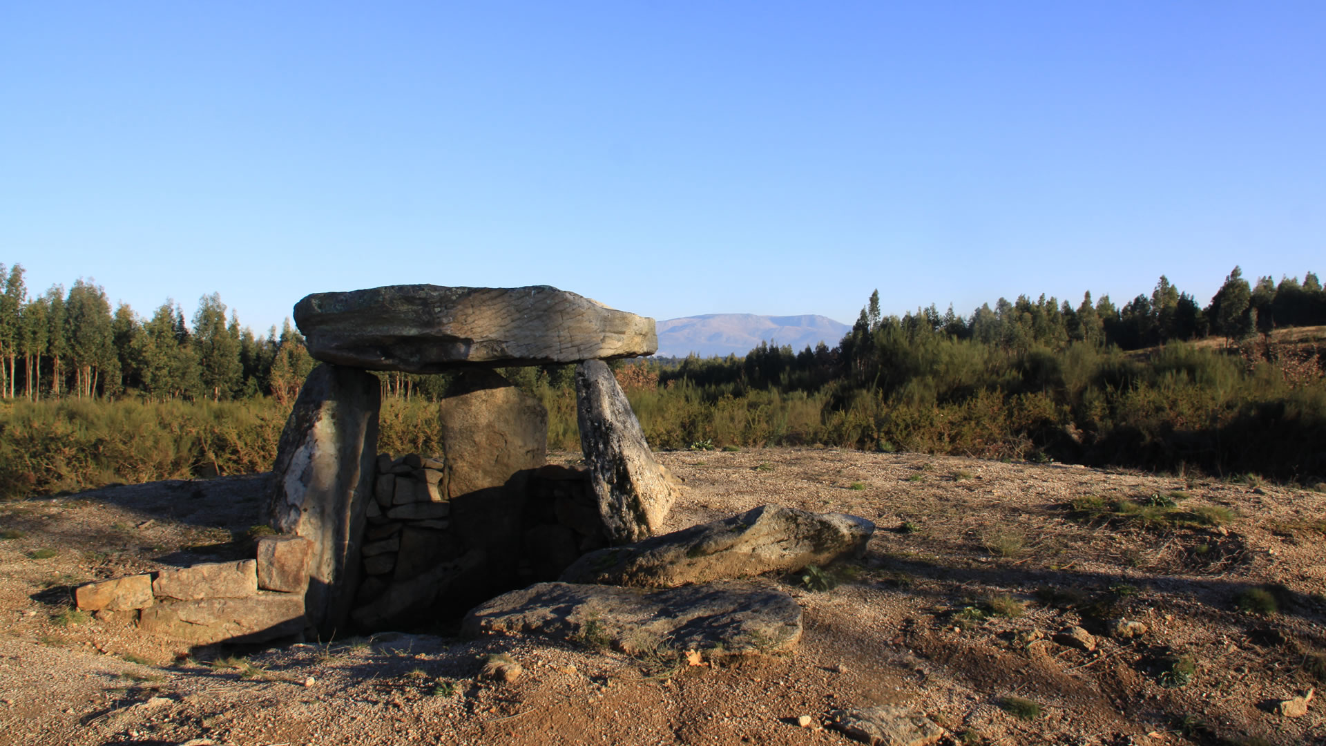 Prehistoric sacred stones of the Viseu region